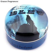 1 Piece Original Woody Notes Magic Solid Parfum Men's Protable Solid Perfumes and Fragrances Body Fragrant Perfume for Men