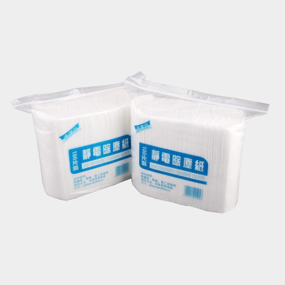 Low Price 100pcs Disposable Electrostatic Dust Removal Mop Paper ...