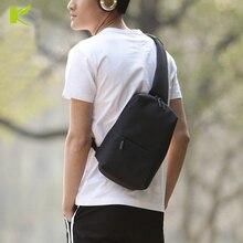 KEMY 2018 New Sling Bag  Xiaomi Mi  Males Girls Chest Pack Crossbody Bag Informal Journey Rucksack Chest Bag