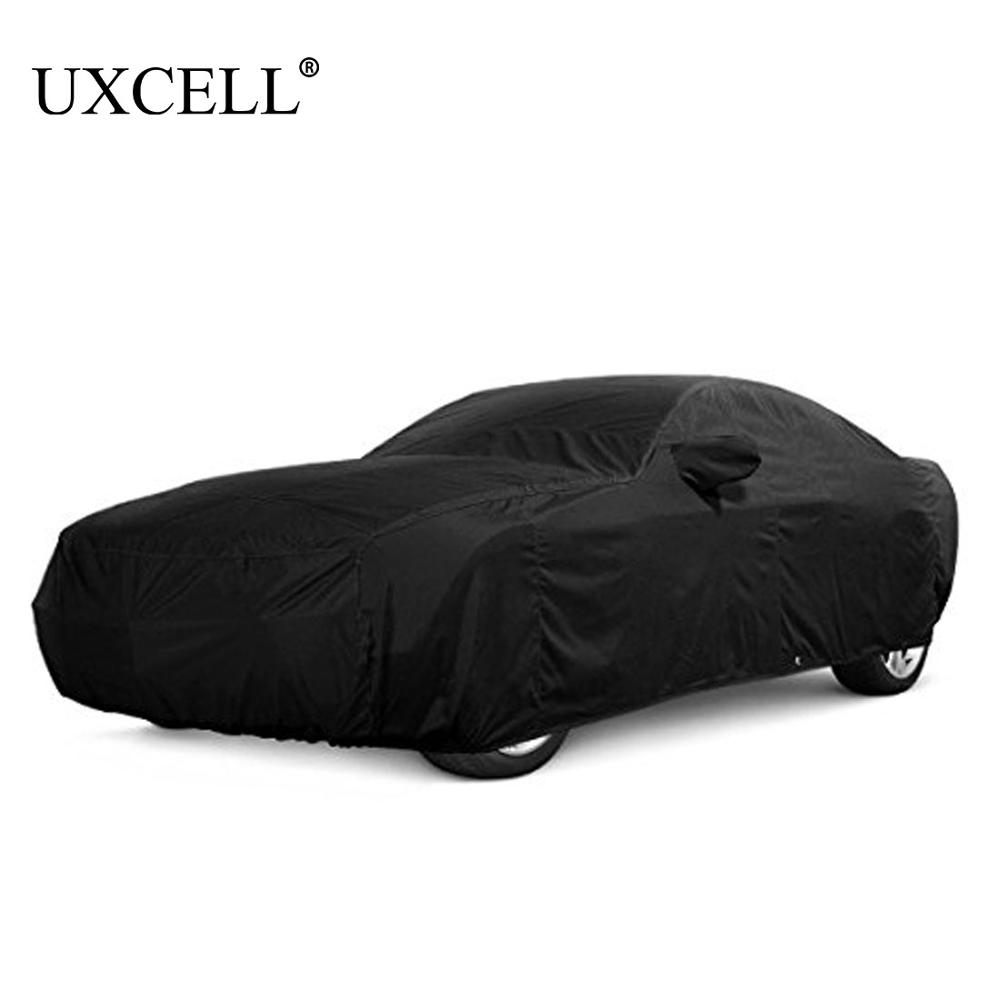 Uxcell 5 size Waterproof Full Car Covers Snow Ice Dust Sun UV Protection Outdoor Protector COVERS