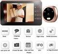 4.3 дюймов TFT LCD Цифровая Камера Глазок Двери Зум Видео глаз Аудио Видеорегистратор Ночного видения