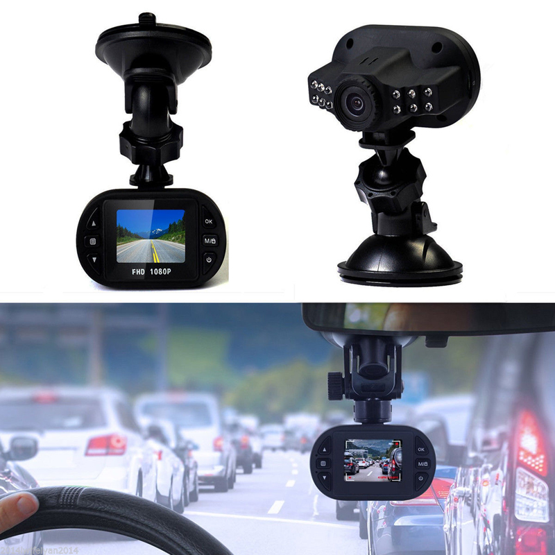 1.5 Inch Full HD 1080P Car DVR Video Recorder Dash Cam G-sensor IR Night Vision Camcorder Seamless Loop Recording