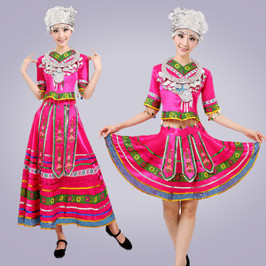 Image 3 - classical traditional chinese dance costumes for women miao hmong clothes traditional hmong clothes china national clothing