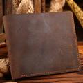 Genuine Leather Men Wallets Male with Card Holders Designer Short Thin Man Purses Carteira Masculina Carteras Billetera Hombre