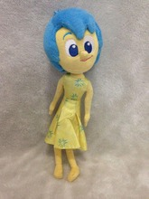 32cm Inside Out Feature Talking Plush Joy Joie pixar inside out movie plush toy