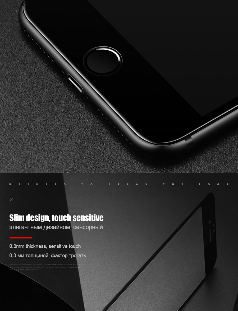 New 9D Curved Full Cover Tempered Glass on the For iPhone X XR XS Max Screen Protector For iPhone 8 7 6 6s Plus Protection Film 5