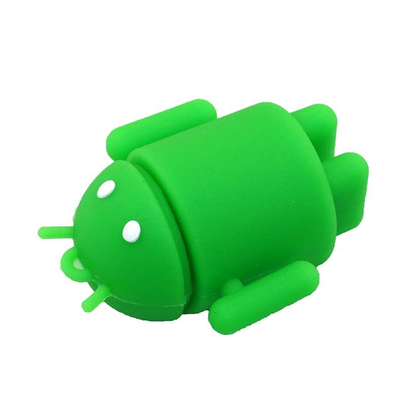 Pen Drive Cartoon Söt Android Robot Extern lagring 8 GB 16 GB 32 GB - Extern lagring - Foto 3