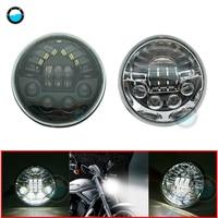 1pcs 12v LED Headlight Fit for Harley Vrod V Rod V ROD VRSC VRSCDX VRSCA 2002 2017