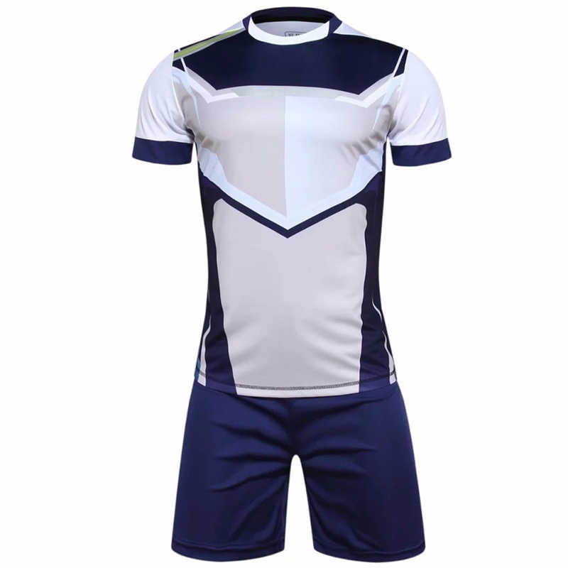 5f182646161 ... Professional Custom Adult 2017 Soccer Jerseys Set Uniforms Football  Clothes Kit Cheap Breathable Football Shirt Tracksuit ...