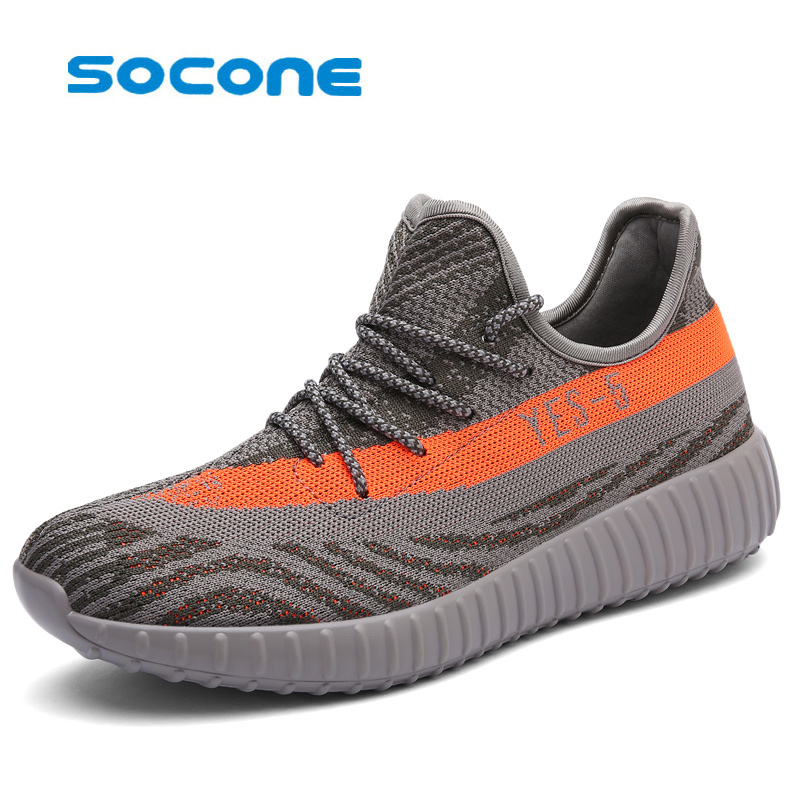 Socone Brand Sports Shoes Men's Running Shoes Lightweight Training Shoes Will Breathe Marathon Running Shoes 350v2