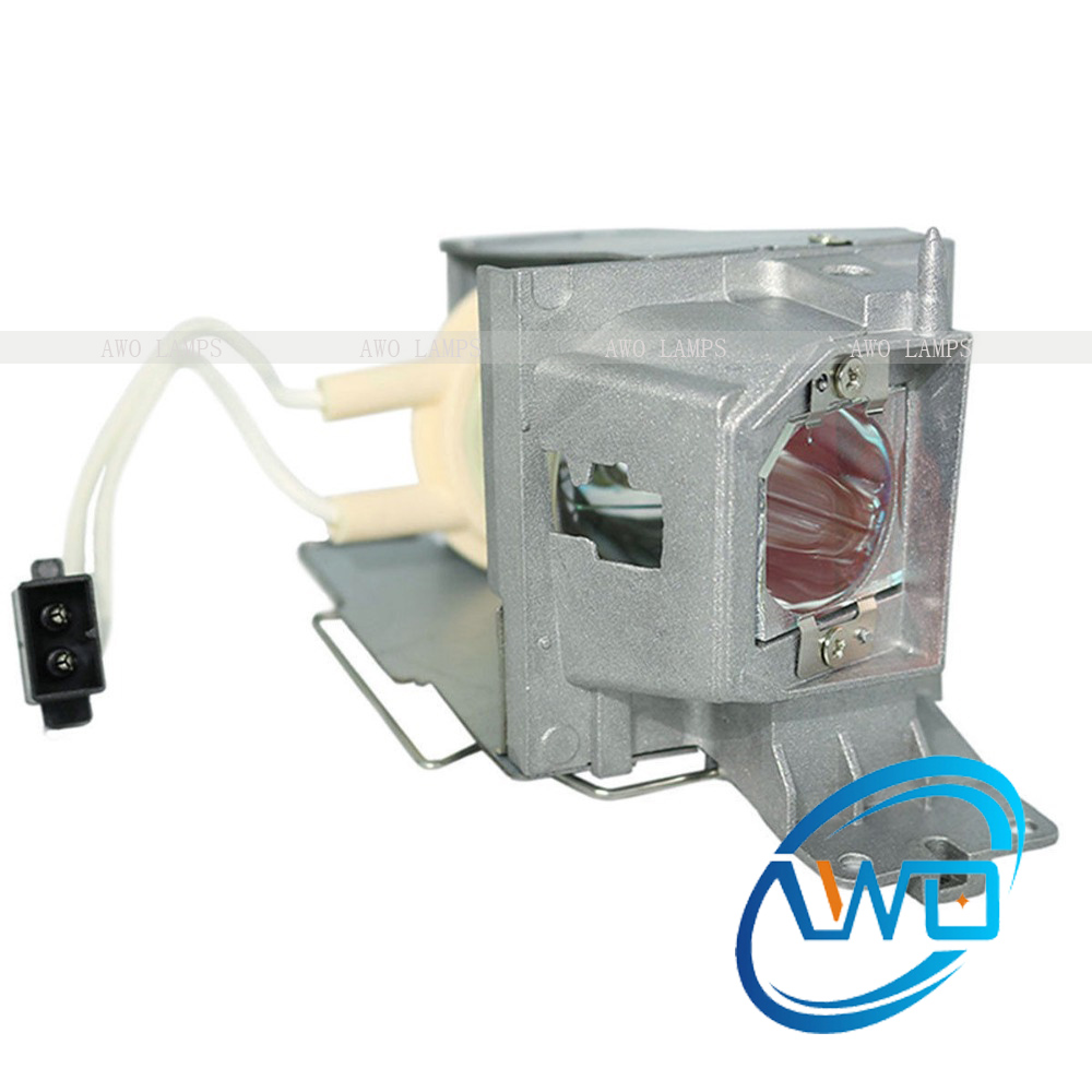 Free Shipping 725-BBCV Replacement Projector Lamps D4J03 With Housing For DELL 1220 Projector Factory Prices