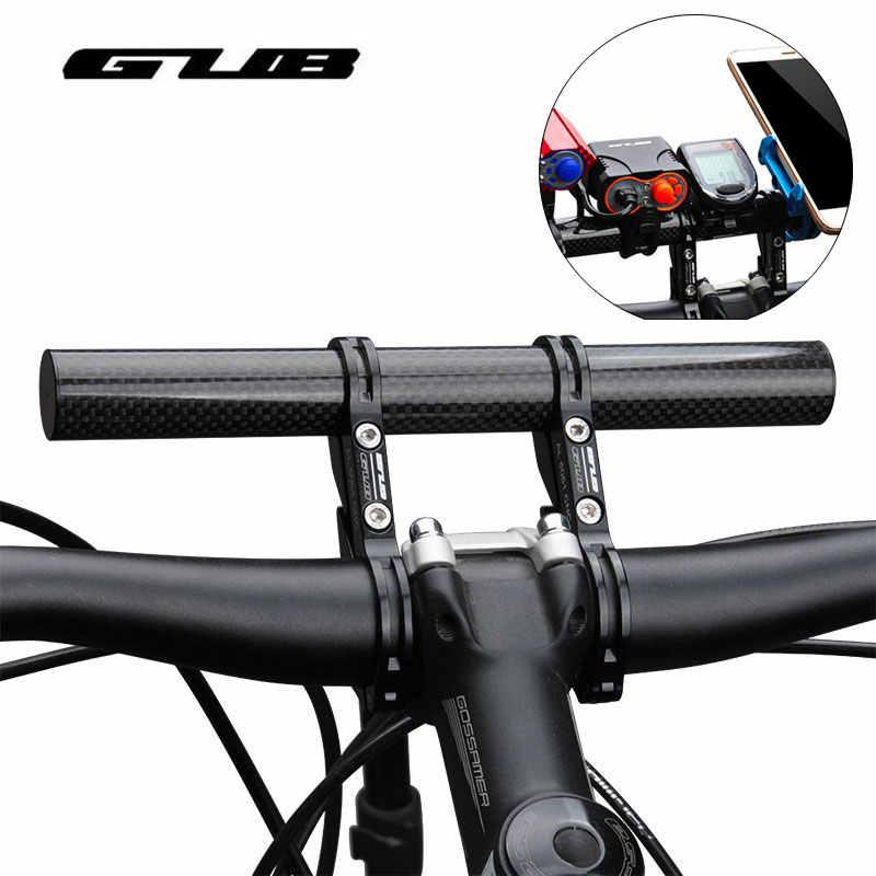 MTB Bike Flashlight Holder Black Handle Bar Extender Phone Lamp Mount Bracket