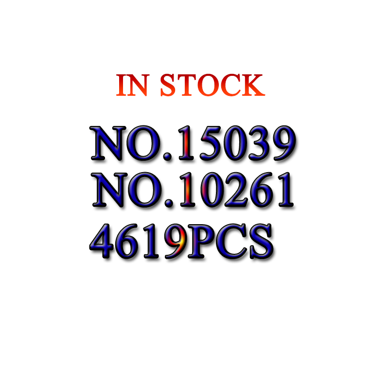 15039 Créateur de la série Le roller coaster Modèle Building Blocks set Compatible 10261 classique architecture jouets pour enfants