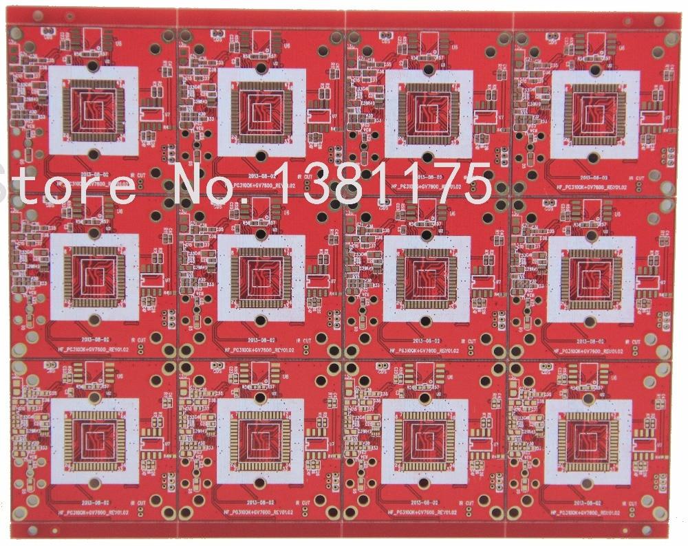 Livraison gratuite tour rapide faible coût FR4 PCB Prototype fabricant, PCB en aluminium, Flex Board, FPC, MCPCB, pochoir de pâte à souder, NO048