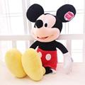 Micky mouse toy 12 ''/15'' Genuino Mickey muñeca almohada muñeca de Mickey Mouse Minnie juguetes de peluche muñeca bebé juguetes 1 unids