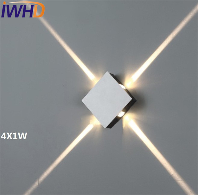 IWHD Modern Wall Sconces Square LED Wall Light Fixtures For Home Indoor Lighting Background Beam Lights Bedside Wall LampIWHD Modern Wall Sconces Square LED Wall Light Fixtures For Home Indoor Lighting Background Beam Lights Bedside Wall Lamp