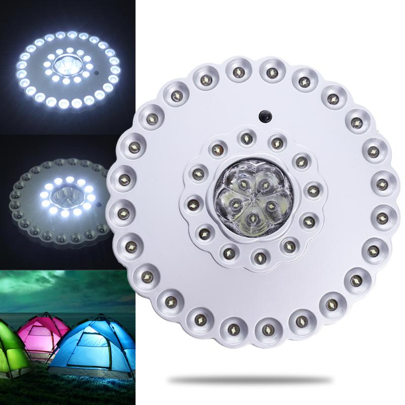 1 Pcs Outdoor Camping Light 41LED Umbrella Light Tents Umbrella Night Lamp Hiking Lantern Household Lights Emergency Lamp E5M1