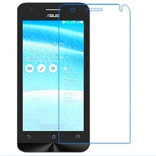 Premium Tempered Glass For Asus ZenFone C / ZC451CG / Z007 4.5 inch Screen Protector Toughened Protective Film With Film Case цена