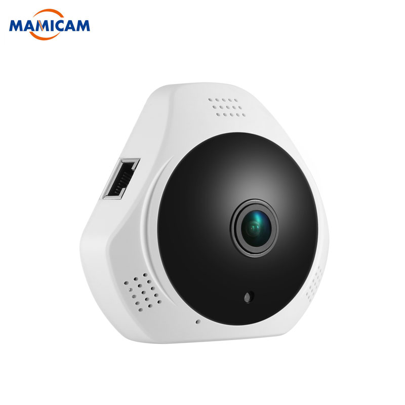 цена на MINI 960P Network Wi-fi 360 Degree Wireless Panoramic Camera Fisheye Security IP Camera WIFI 1.3MP Video Built-in MIC