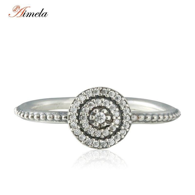 Small CZ diamond Pave Radiant Elegance Ringss