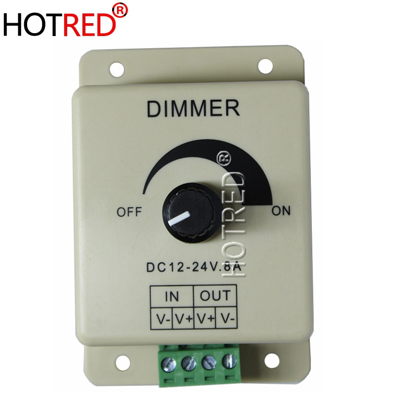 Hot Sale! High Quality <font><b>12V</b></font> 8A 96W PIR Sensor <font><b>LED</b></font> Strip Light lamps Switch Dimmer Brightness Controller High Quality Wholesale image