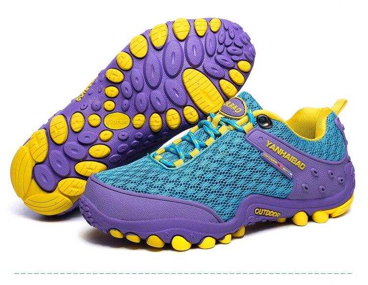 Men Women Outdoor Hiking Shoes Sneakers Walking Climbing Breathable Soft Soles Non-slip Women Sport Shoes Camping Trekking Shoes