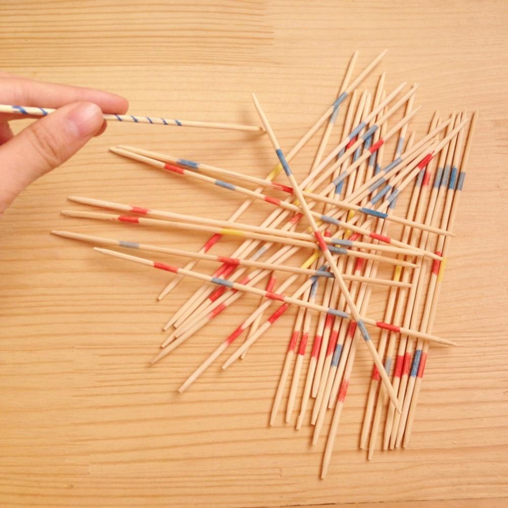 30pcs//set Classic Plastic Pick Up Sticks Set Traditional Game Toy RS