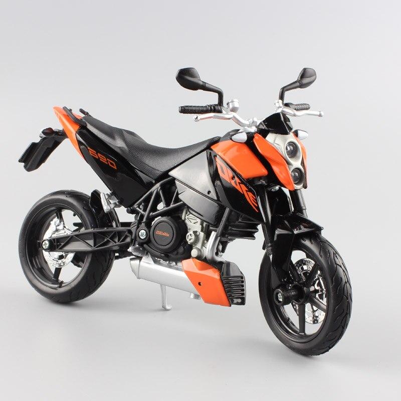 Motorrad Modell 1:18 KTM 690 Duke 3 orange von Maisto