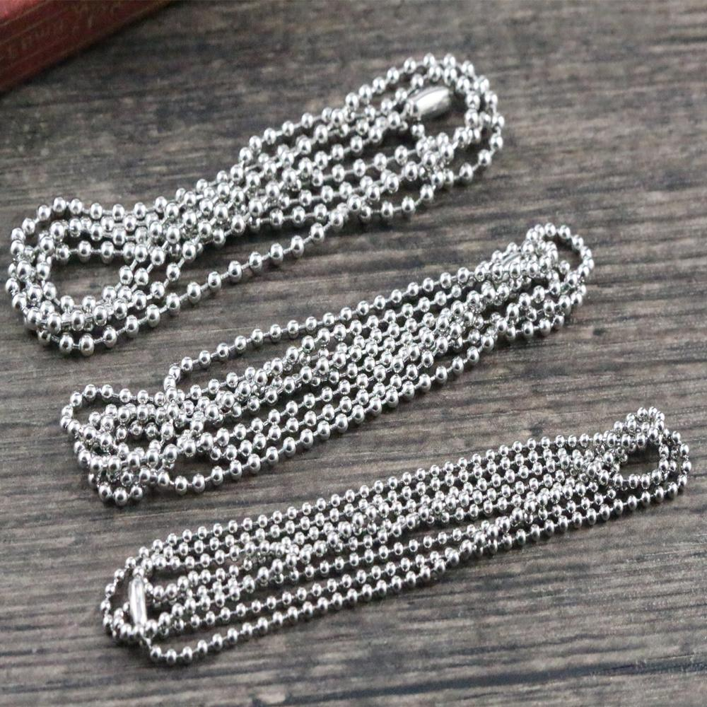 Necklace Connector Chain Stainless-Steel No-Fade 3-Size 5pcs/Lot And And