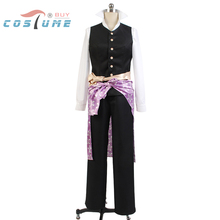 Hakuoki Heisuke Todo Swordman Uniform Shirt Pants For Men Anime Halloween Cosplay Costume Custom Made