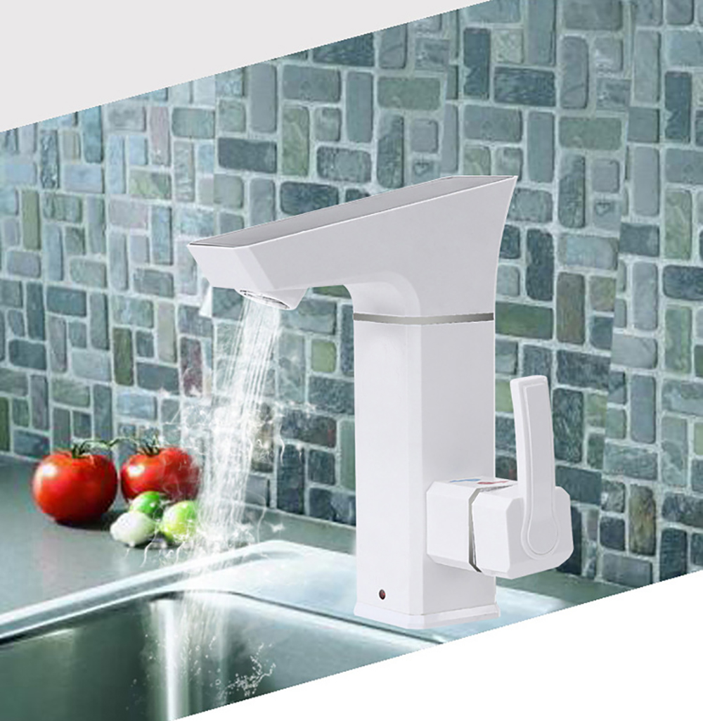 New design 3000W LED display temperature instant tankless hot faucet ...