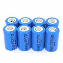 4 sztuk/partia Etinesan 15266 według wskazań przyrządów (IFR CR2) 3 V 220 mah akumulator litowo-jonowy baterie LiFePo4 baterii bezpieczne