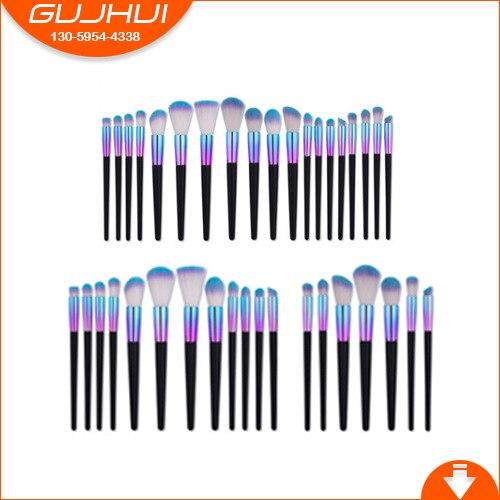7/12/19 Make Up Brush Sets, Brush Beauty Tools, Taper Blush Brush, Eye Brush GUJHUI make up factory blush brush