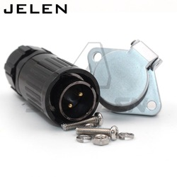 HE20 waterproof plug and socket 2 3 4 5 6 7 8 9 10 12pin Panel mount connectors, automotive connectors ip65 power cable plug