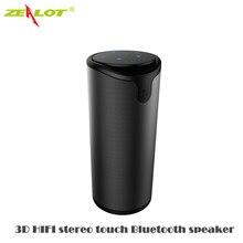 Zealot HIFI 3D touch deportes auriculares Inalámbricos Bluetooth Altavoz Estéreo Portátil de Altavoces TF Llamada de para iphone xiaomi huawei