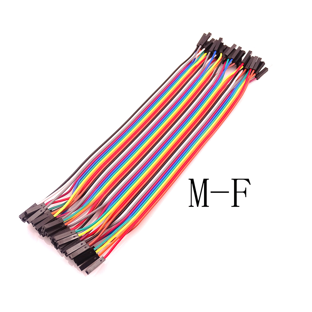 40pcs Dupont Cable Jumper Wire Dupont Line Male To Fmale Dupont Line 20cm 1P-1P