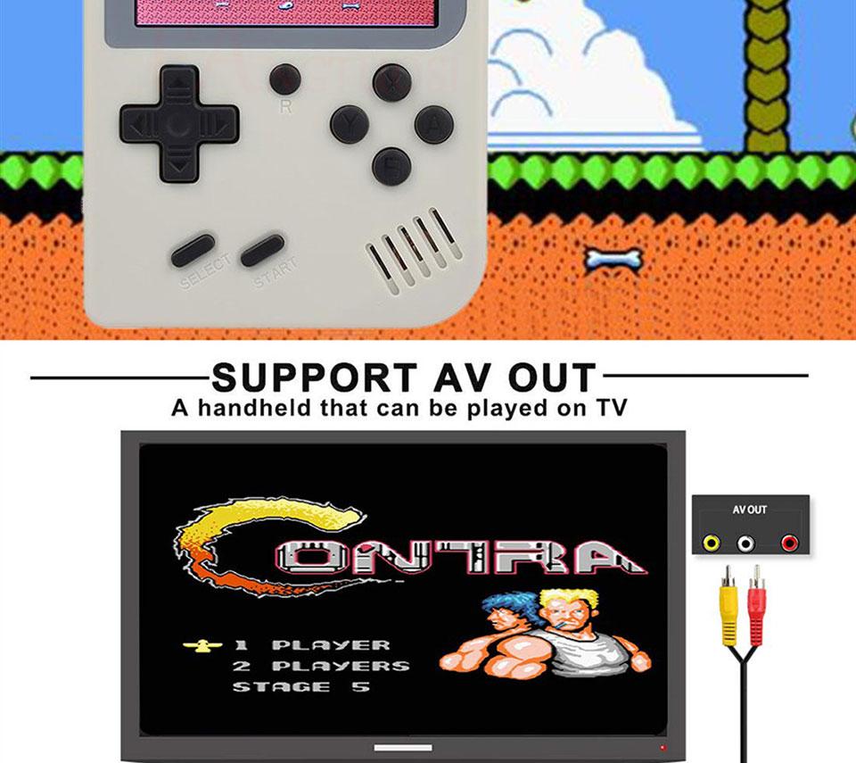 Consola de videojuegos FANGTUOSI 8 bits 6