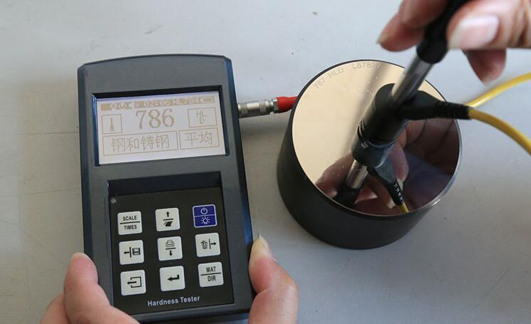 Portable Leeb Testeur de Dureté Métallique Dureté Compteur W/Bloc D'étalonnage 940HV