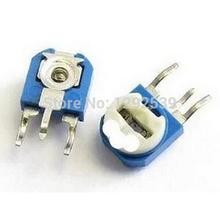 500pieces/lot RM063 10K Ohm RM063 103 Adjustable Vertical Trimpot Resistor