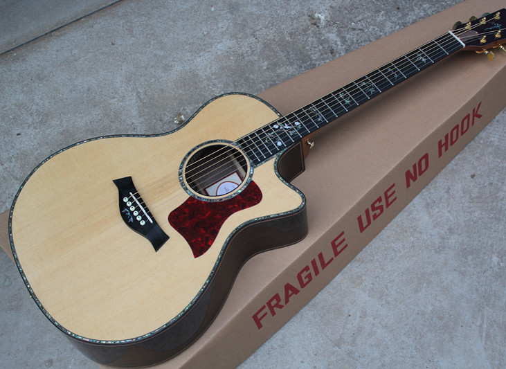 2018 New Factory Chaylor 914ce acoustic guitar Tayl 916ce acoustic electric guitar OEM KSG all real
