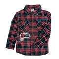Novatx a4086 camisas de los muchachos 2016 nova kids fashion baby boy desgaste del otoño del resorte impresos blusa de un solo pecho camisa de algodón para los niños
