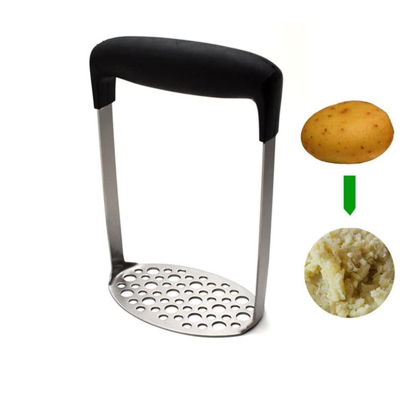 Hochwertige Edelstahl Kartoffelstampfer Refried Bohnen / Erbsen / - Küche, Essen und Bar