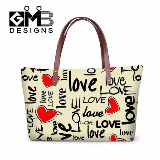 Dispalang Shoulder Handbags Women S School Hand Bags Pretty Tote Love Heart