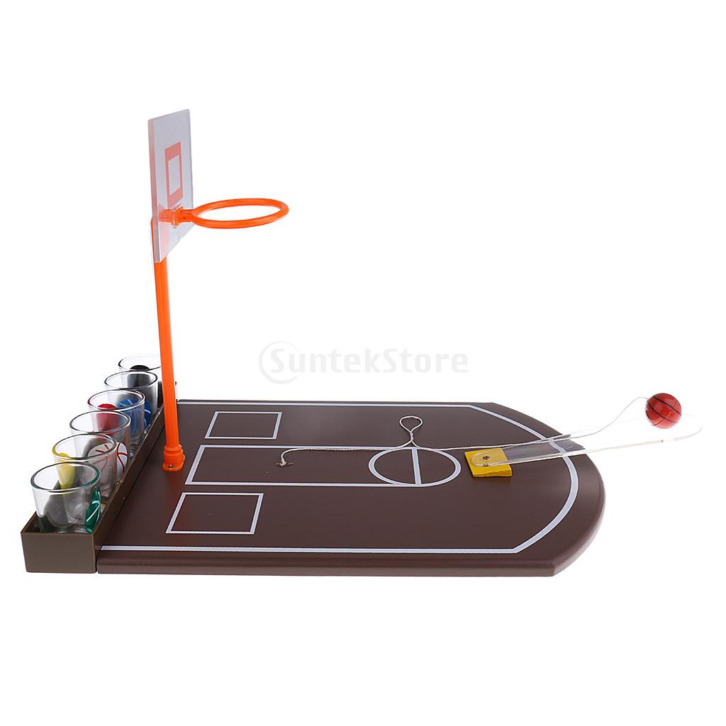 Mini Tabletop Basketball Shot Glass Drinking Game For Adult Home Family Pub  Bar Board Game Christmas Toys Gift In Board Games From Sports U0026  Entertainment On ...