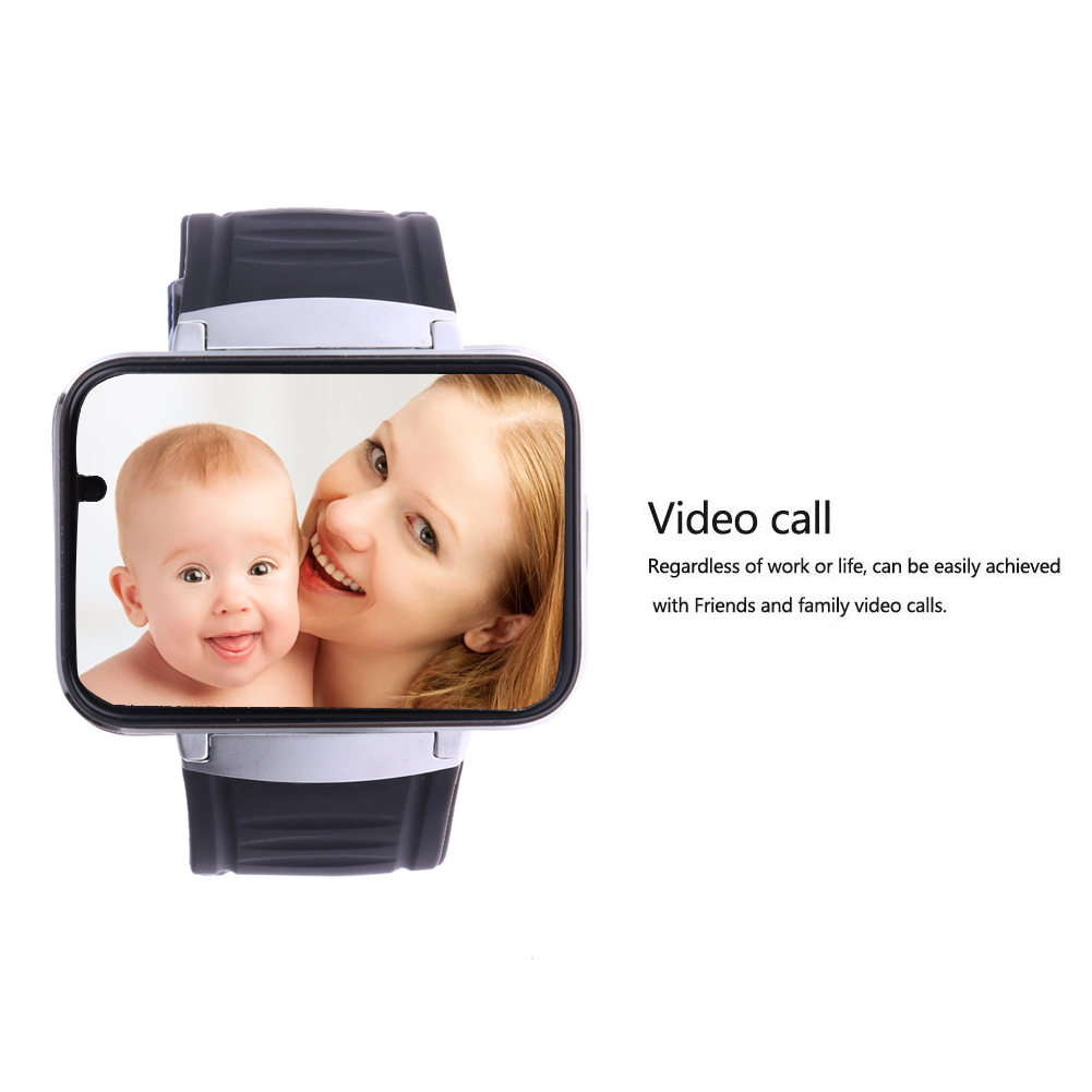 2019 Smart Watch Wifi Bluetooth Watch DM98 2.2 Inch HD IPS LED Display Supports SIM Card For Huaiwei Samsumg Android