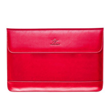 LENTION New Leather-based Pocket book laptop computer Sleeve Case Bag For MacBook Professional/Air 13″ Coloration:Crimson Dimension:For 13.3inch