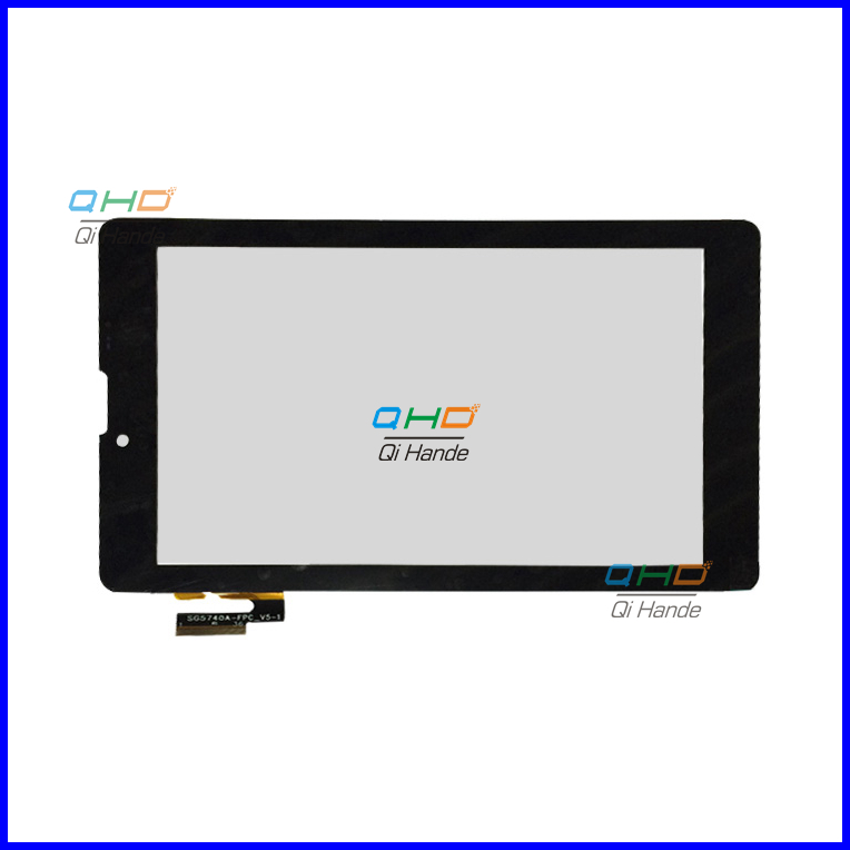 Free Shipping 7''inch New SG5740A-FPC_v5-1  Flat-panel Capacitive Touch Screen SG5740A-FPC_V3/v4/v5-1 Touch Screen for MID