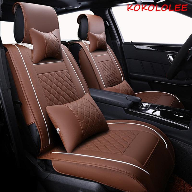 [kokololee] car seat cover for citroen All models c5 c3 berlingo c4 grand picasso berlingo elysee car seat protector car-styling citroen type h 1952 eligor citroen car models 1 43