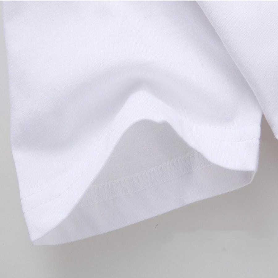2019 mùa hè phụ nữ hàng đầu vogue màu nước sọ bướm hoa phụ nữ in áo thun nữ trắng t-shirt camise masculina tees