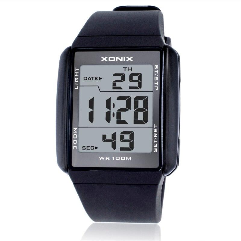 Uhren Mode Männer Sport Uhren Wasserdichte 100 M Outdoor Spaß Digitale Uhr Schwimmen Tauchen Armbanduhr Reloj Hombre Montre Homme Digitale Uhren